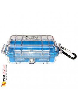 1010 Peli Micro Case Transparent Blue