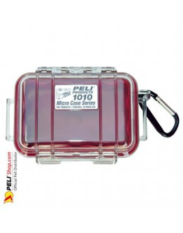 1010 Peli Micro Case Transparent Red